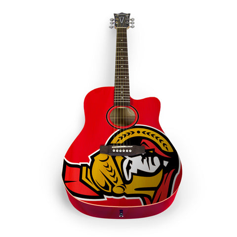 Ottawa Senators Acoustic Guitar