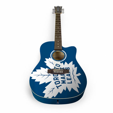 Toronto Maple Leafs Acoustic Guitar