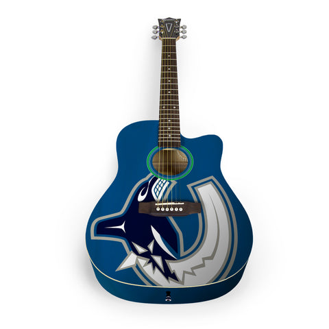Vancouver Canucks Acoustic Guitar