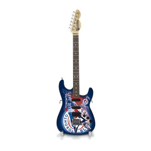Toronto Blue Jays Miniature Northender Guitar - The Sports Vault