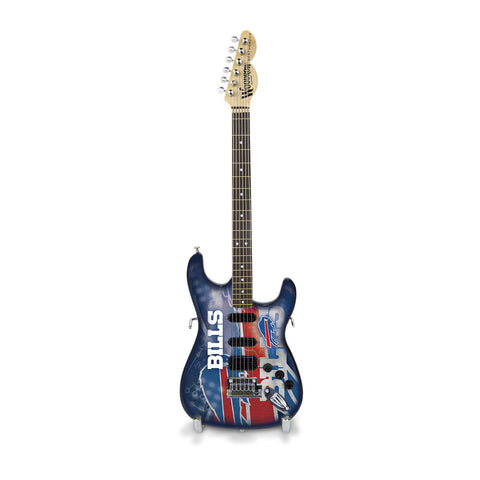 Buffalo Bills Miniature Northender Guitar - The Sports Vault