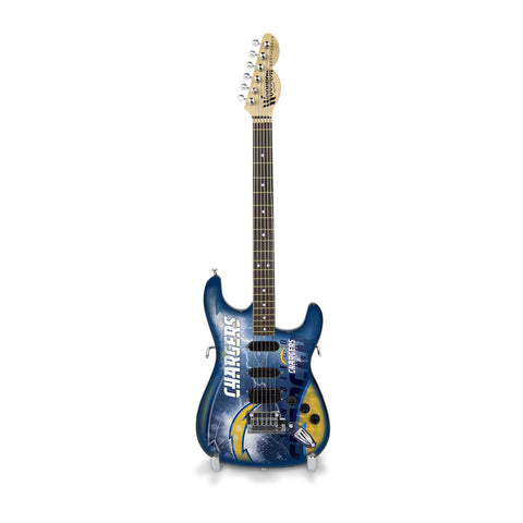 San Diego Chargers Miniature Northender Guitar - The Sports Vault