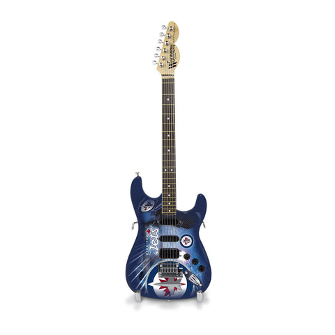 Winnipeg Jets Miniature Northender Guitar - The Sports Vault