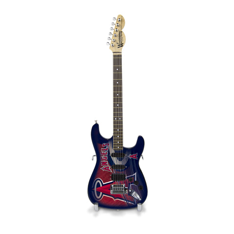 Los Angeles Angels Miniature Northender Guitar - The Sports Vault