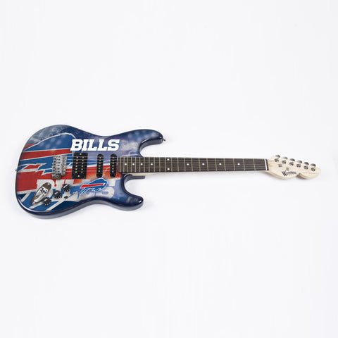 Buffalo Bills Northender Guitar - The Sports Vault