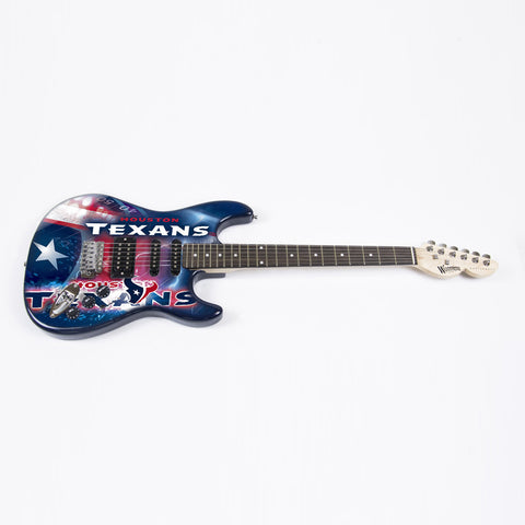 Houston Texans Northender Guitar - The Sports Vault