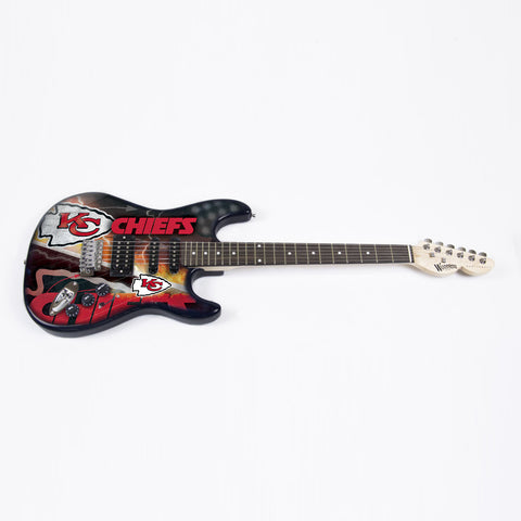 Kansas City Chiefs Northender Guitar - The Sports Vault