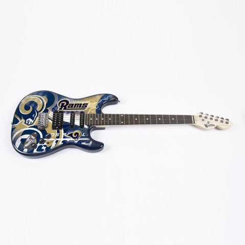 LA Rams Northender Guitar - The Sports Vault