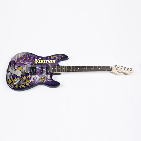 Minnesota Vikings Northender Guitar - The Sports Vault