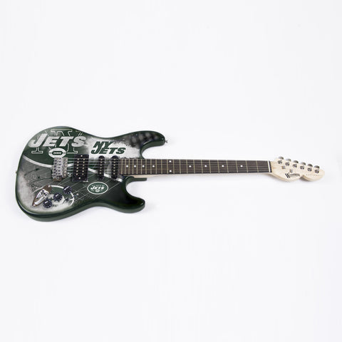 New York Jets Northender Guitar - The Sports Vault