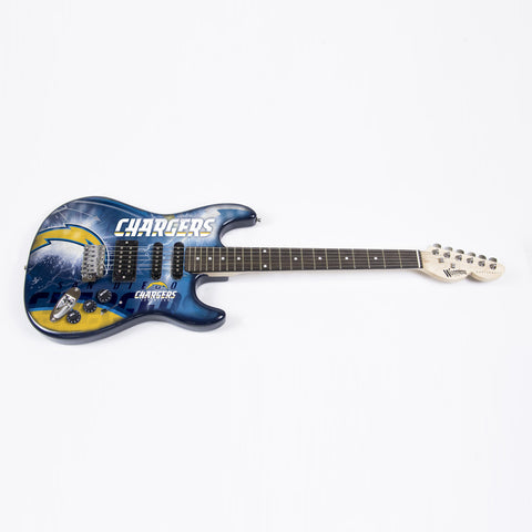 San Diego Chargers Northender Guitar - The Sports Vault