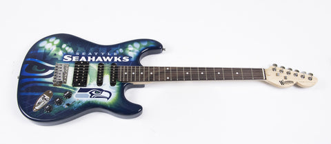Seattle Seahawks Northender Guitar - The Sports Vault