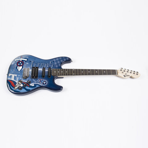 Tennessee Titans Northender Guitar - The Sports Vault