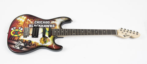 Chicago Blackhawks Northender Guitar - The Sports Vault