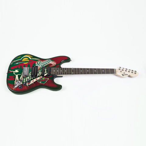 Minnesota Wild Northender Guitar - The Sports Vault