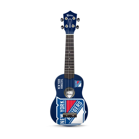 New York Rangers Denny Ukulele - The Sports Vault