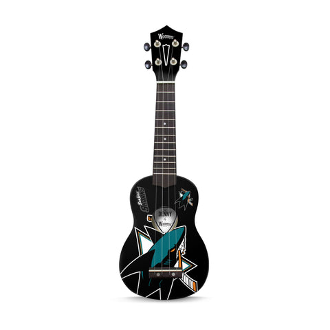 San Jose Sharks Denny Ukulele - The Sports Vault