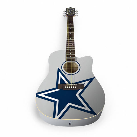 Dallas Cowboys Acoustic Guitar - The Sports Vault