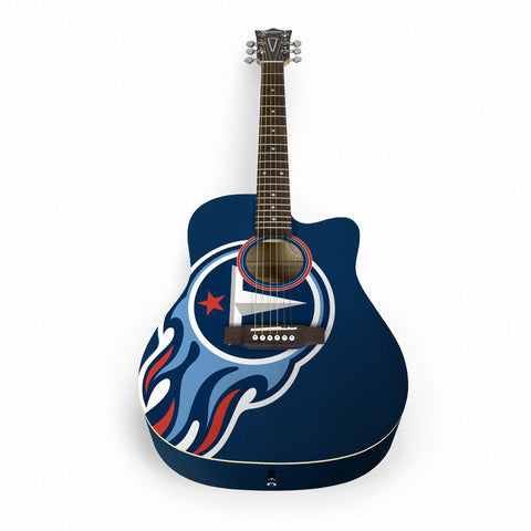 Tennessee Titans Acoustic Guitar - The Sports Vault