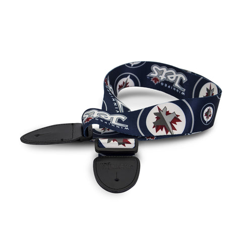 Winnipeg Jets Guitar Strap - The Sports Vault