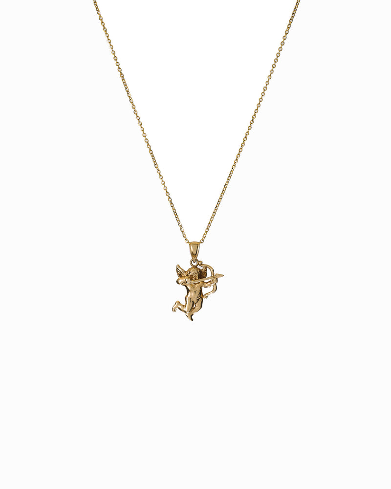 Cupid Necklace 14k Gold - DAYFOURTEEN