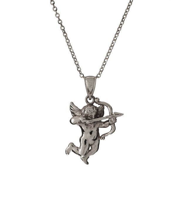 Cupid Necklace 925 Sterling Silver - DAYFOURTEEN