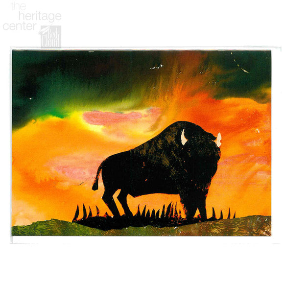 Majestic Buffalo Notecard