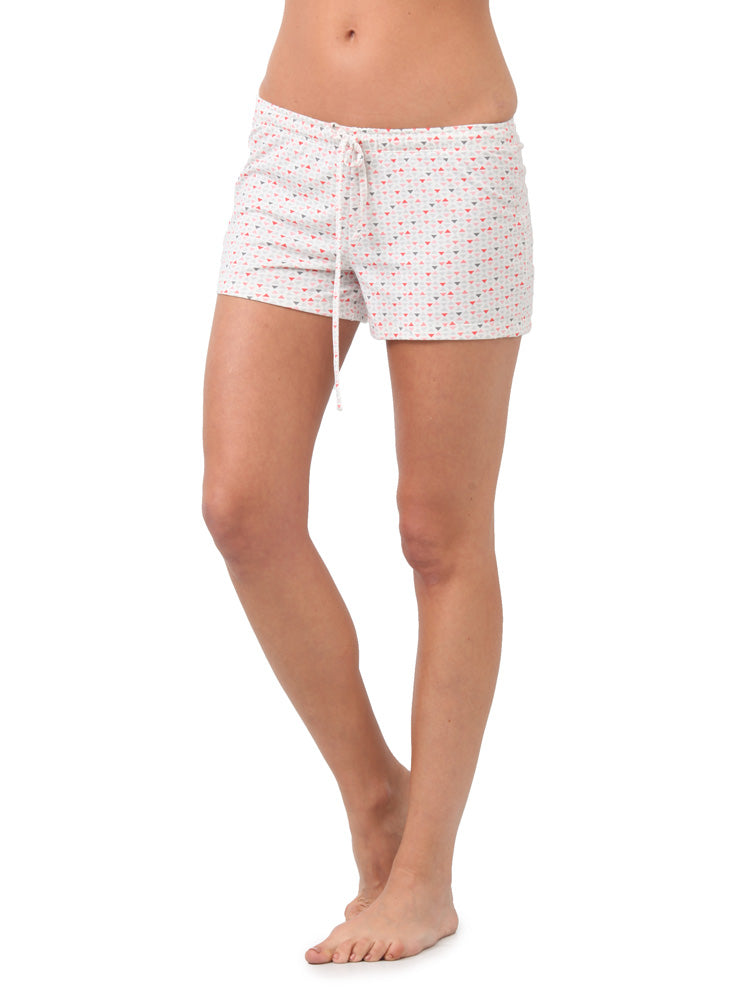 Short Pijama Estampado Blanco