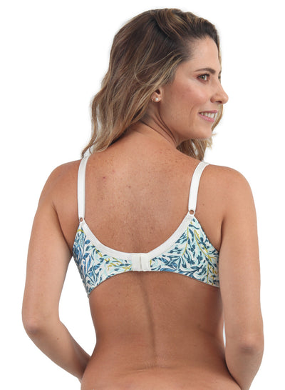 Brasier Estampado Blanco