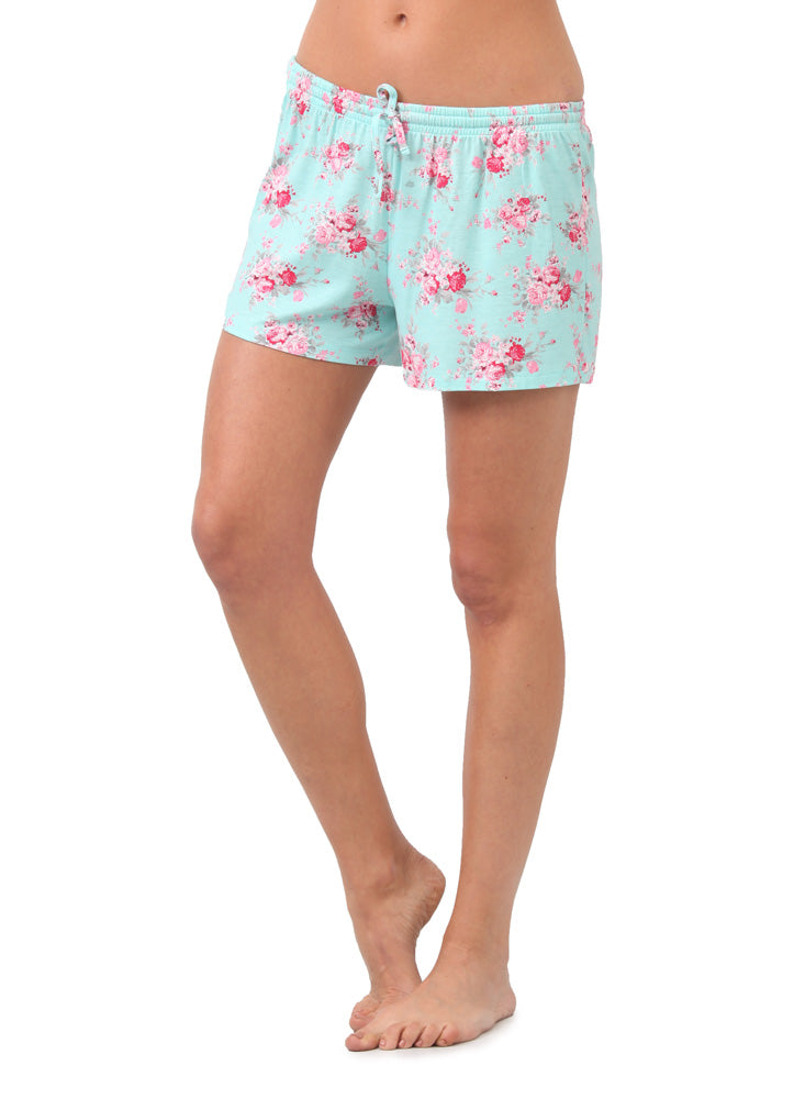 Short Pijama Estampado Azul