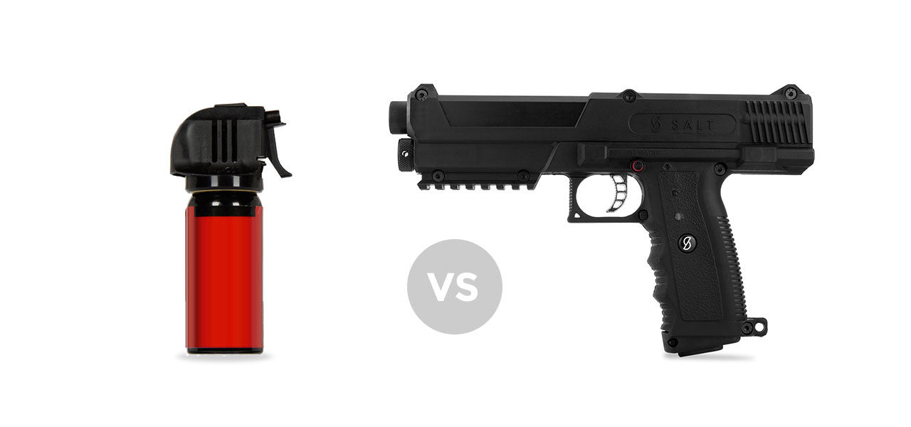 Pepper Spray vs Pepper Spray Guns