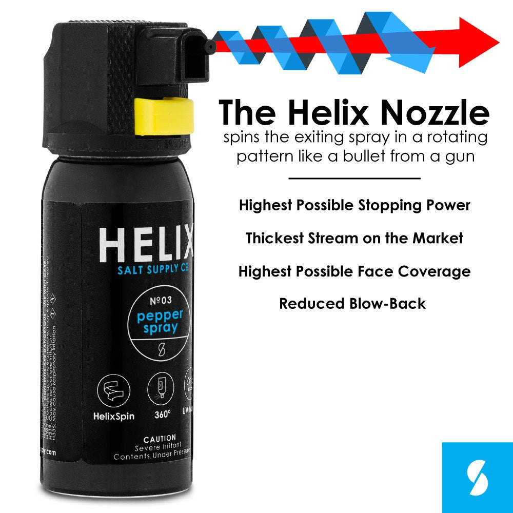 Helix n3 Pepper Spray (Optional Hip Holster)