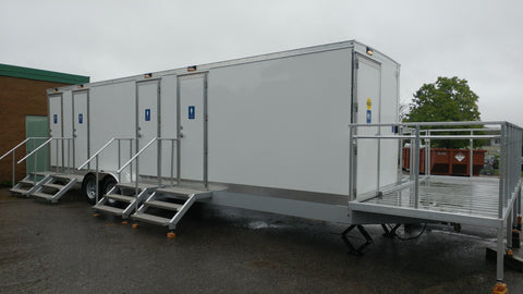 Wheelchair Accessible Portable Restroom