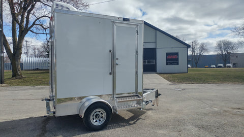 """Super Single"" Trailer Portable Restroom"