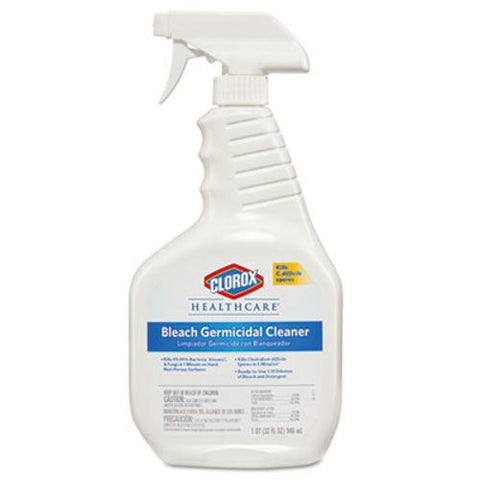 32oz Clorox Healthcare Disinfectant Spray, Bleach Germicidal, #68970