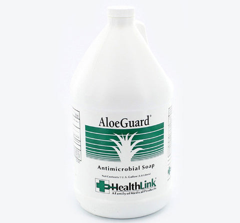 AloeGuard Soap, Antimicrobial with Aloe, Gallon Refill, #7740