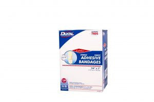 Caliber Adhesive Bandage, Sterile, 0.75in x 3in, #7605