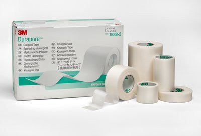 3M Durapore Medical Tape Sugical, Hypoallergenic #1538-3
