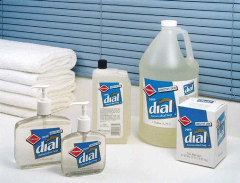 Dial Corporation Soap Antimicrobial, Sensitive Skin #80784