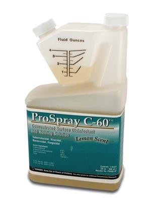 Certol ProSpray C-60 Disinfectant, Meter Dose Bottle, #PSC60/32