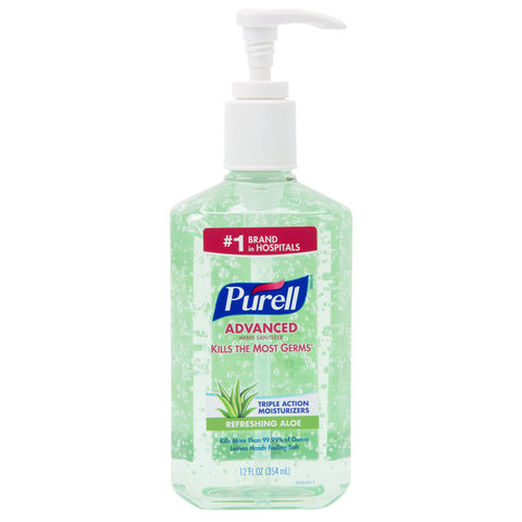 Gojo Industries Purell Hand Sanitizer Gel #3639-12