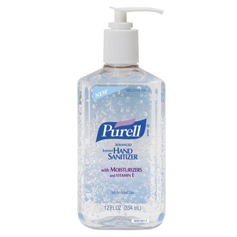 Gojo Industries Purell Hand Sanitizer Gel #3659-12