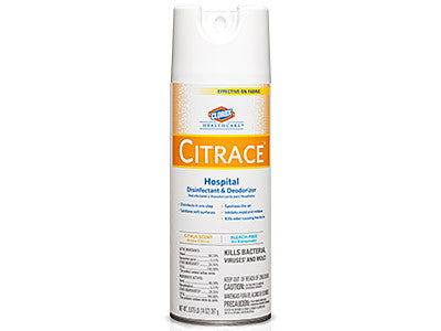 Clorox Healthcare Citrace Disinfectant Spray, 14oz, #49100