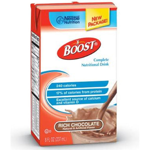 Nestle Boost Nutritional Supplement Rich Chocolate #4390067538