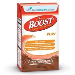 Nestle Boost Plus Nutritional Supplement Rich Chocolate #4390093238