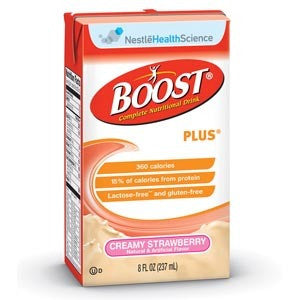 Nestle Boost Nutritional Supplement Creamy Strawberry #4390067639
