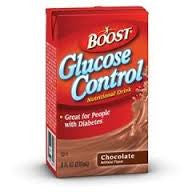 Nestle Boost Nutritional Supplement Glucose Control, Rich Chocolate #36020000