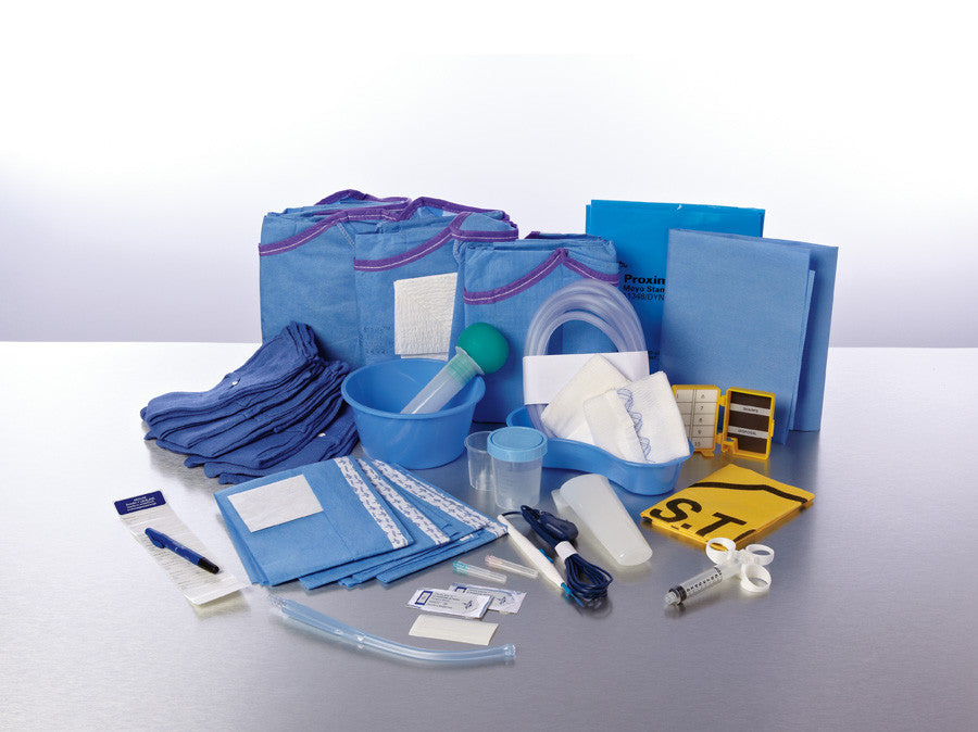 Busse Hospital Breast Biopsy Tray, Sterile #7899