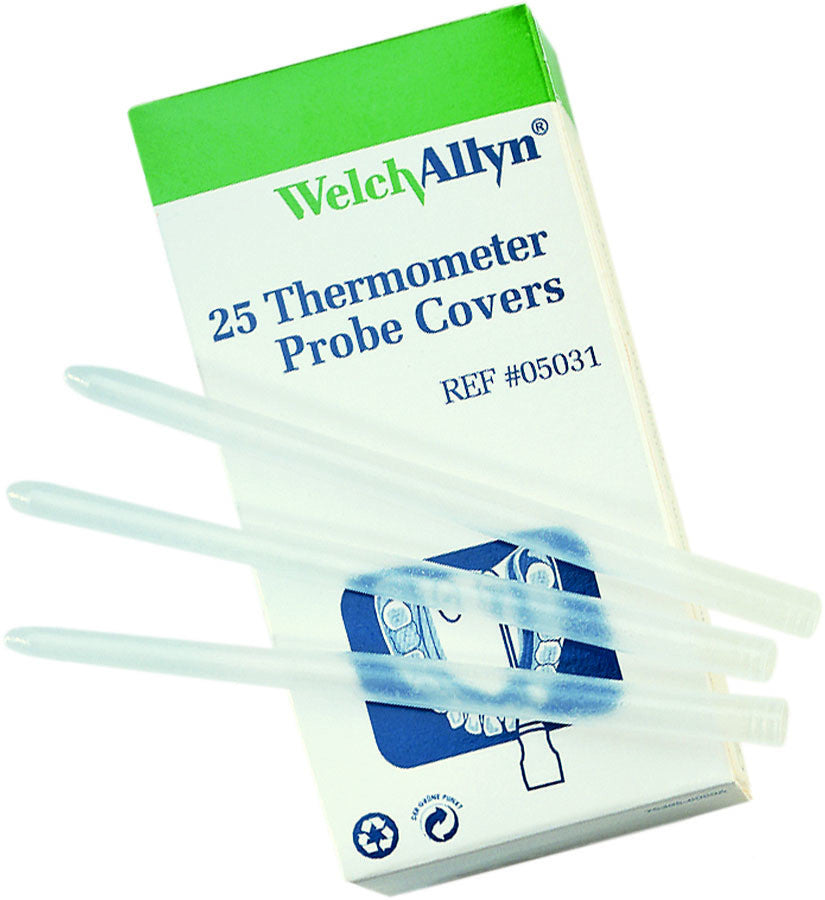 SureTemp Disposable Probe Covers, Welch Allyn SKU 05031-750 - AMDH