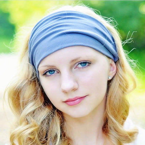 Wide Elastic Sports Headband